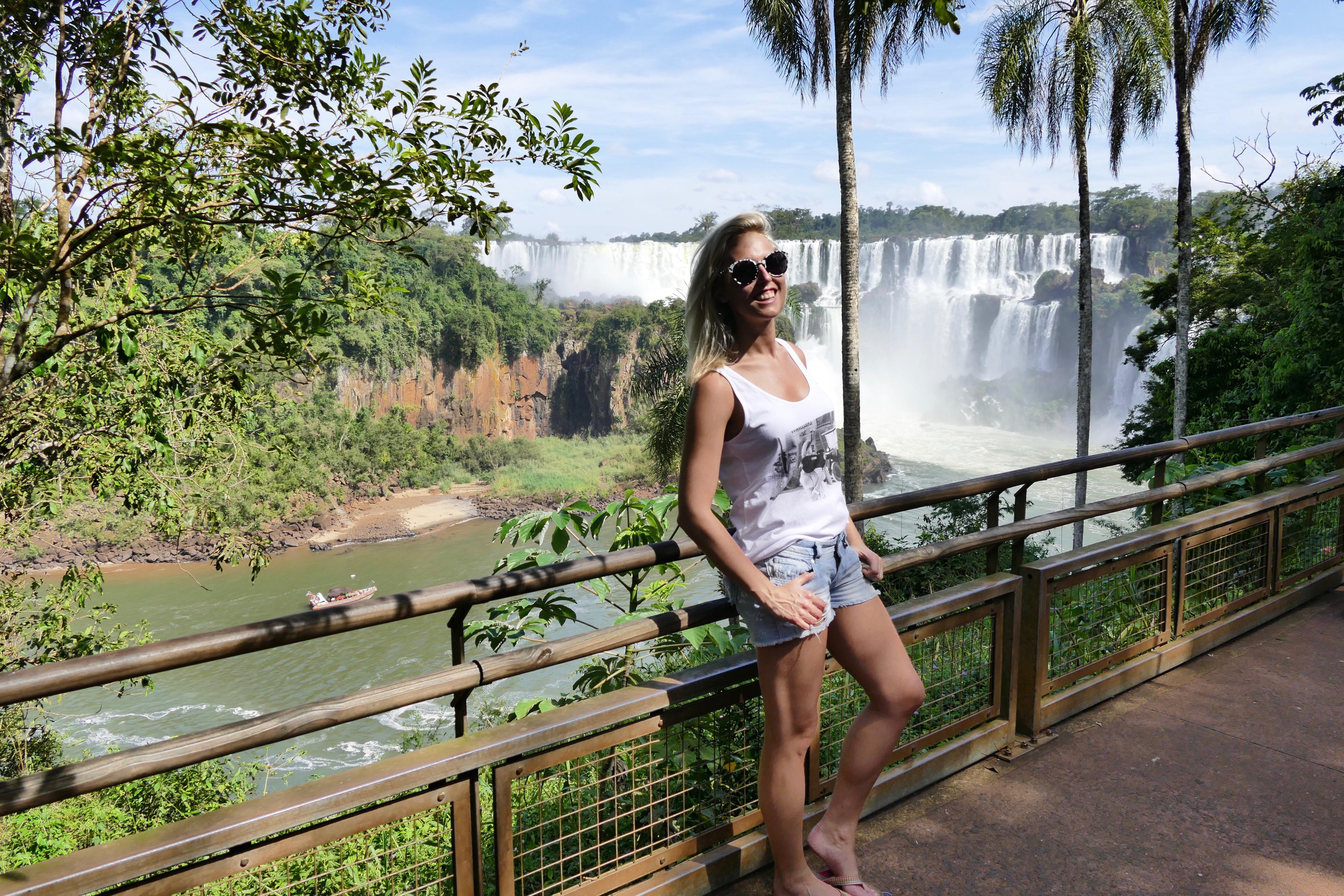 Iguazu vattenfall Argentina