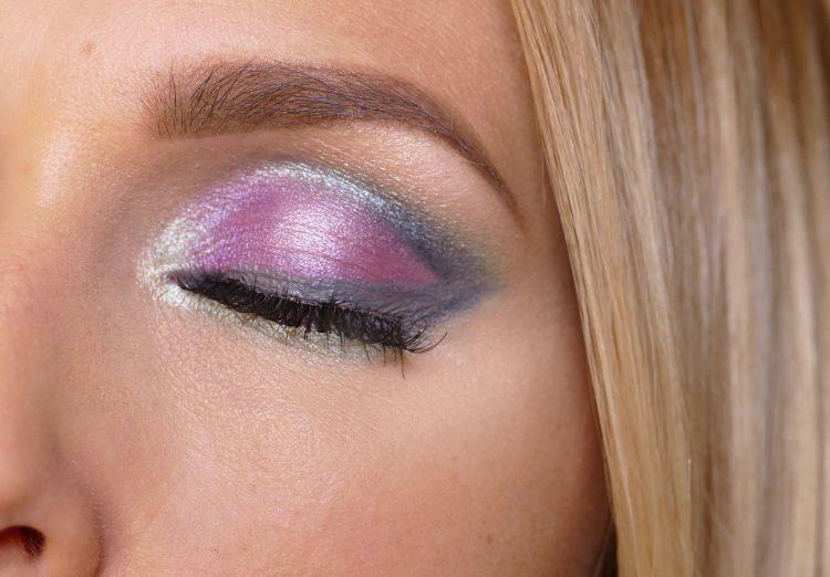 Makeup i lila