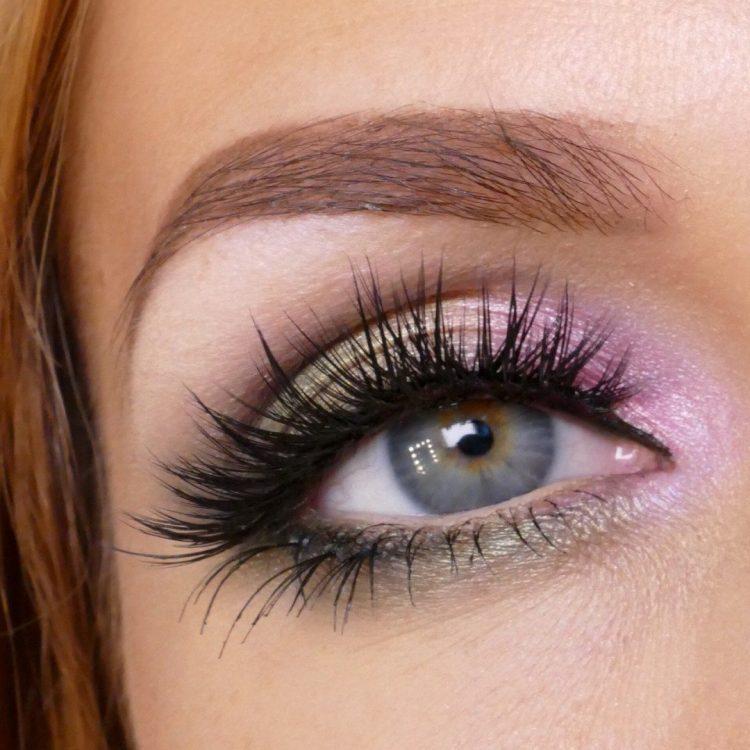 Rosa Grön makeup