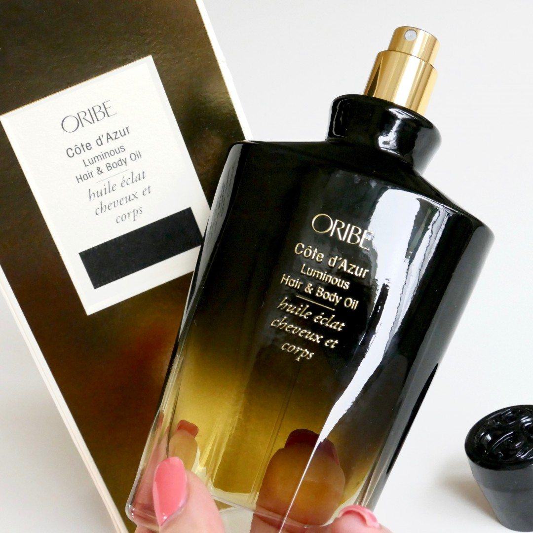 oribe CôTe d'Azur lumInous hair &amP; body oil