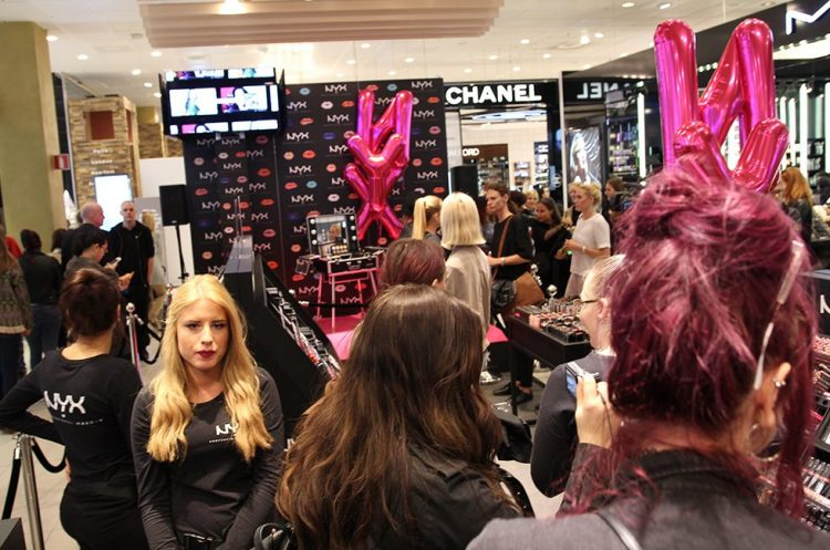 NYX POP UP STORE STOCKHOLM