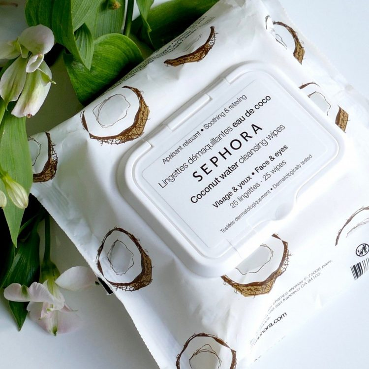 Cleansing & Exfoliating Wipes Coconut Water