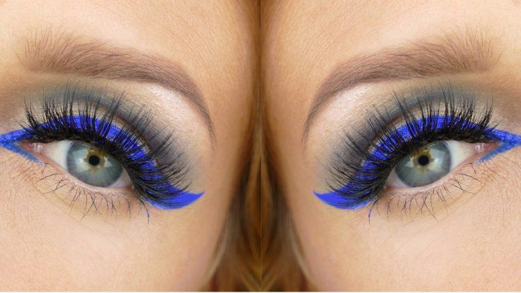 Kornblå Eyeliner