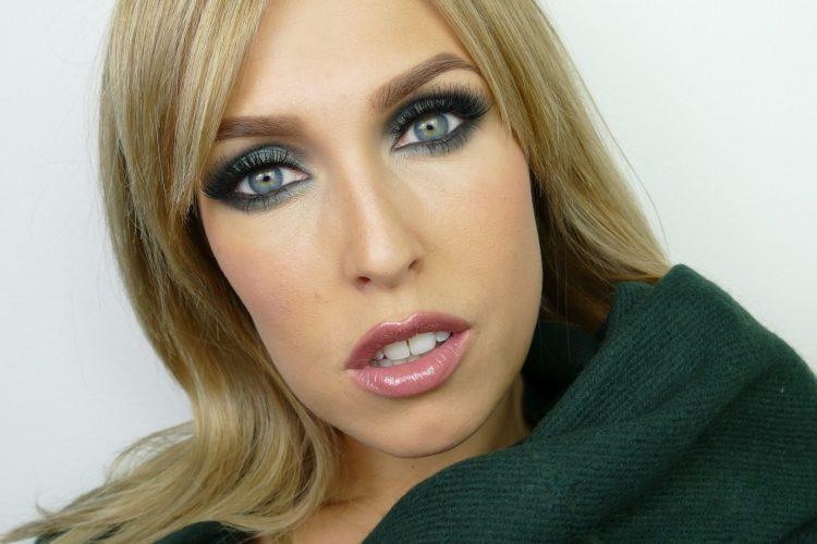 Makiash grön ögonskugga