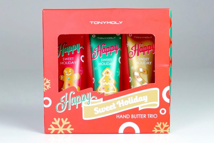Sweet holiday hand butter trio