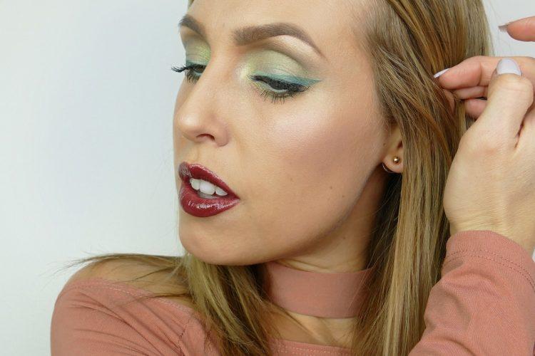 Grön eyeliner