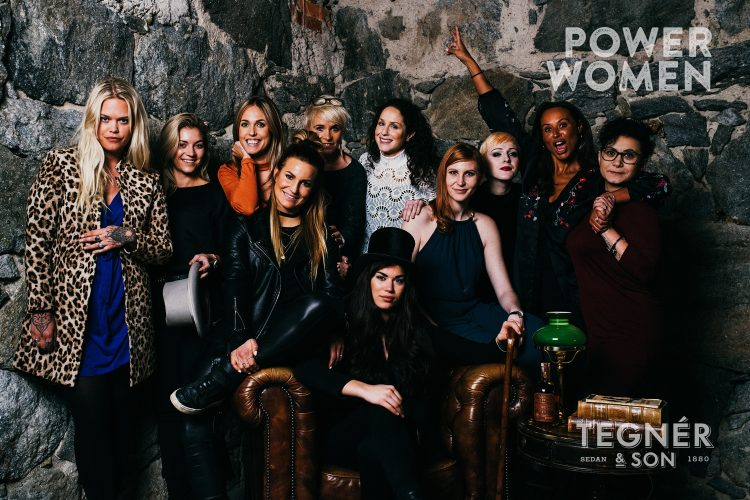 power women tegner sons