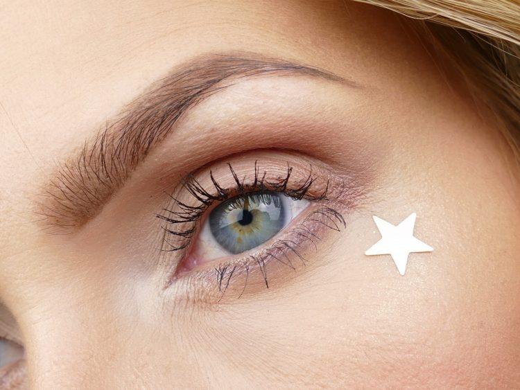 stjärna makeup