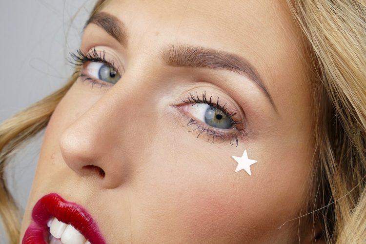 makeup med stjärnor