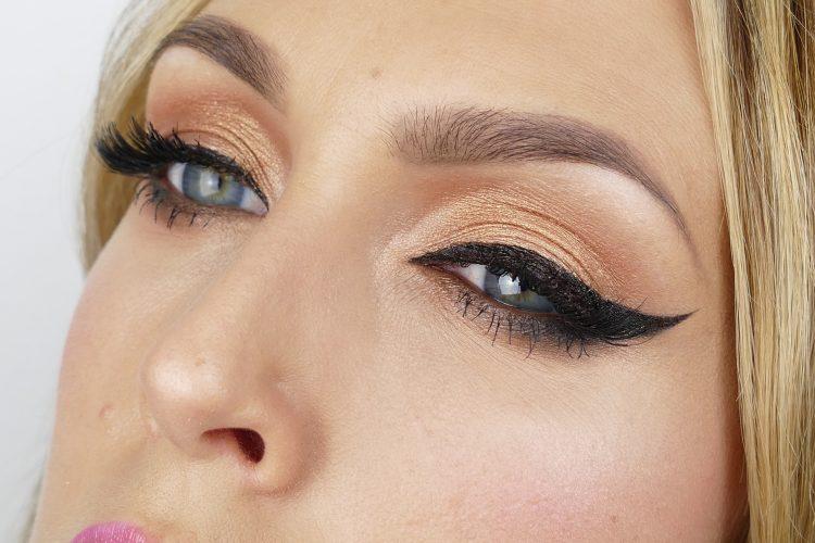 Makeup i guld