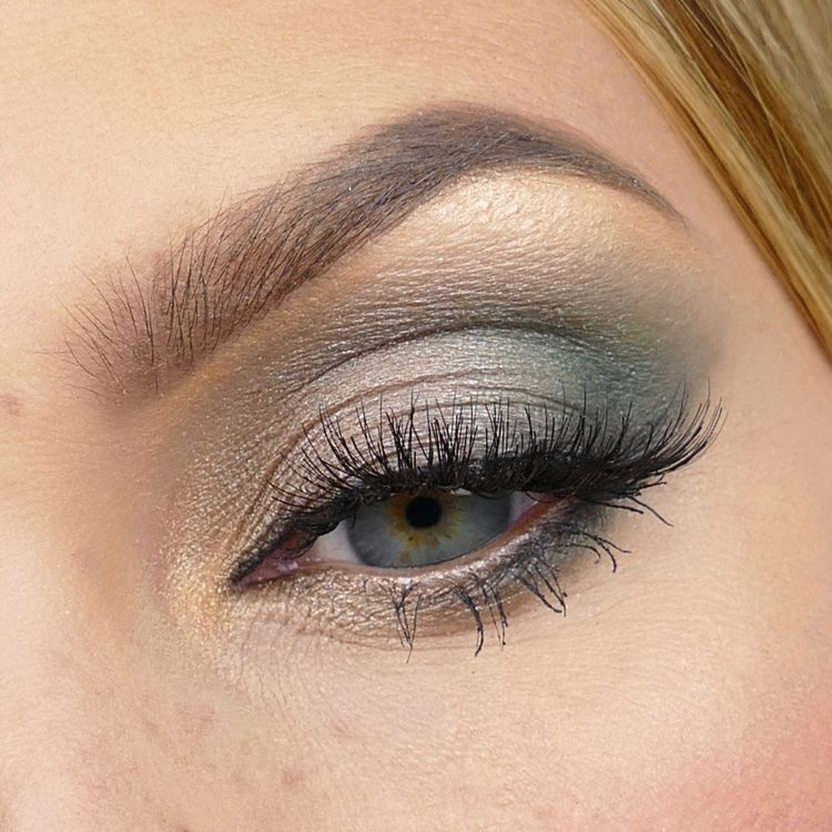 Festival inspirerad makeup