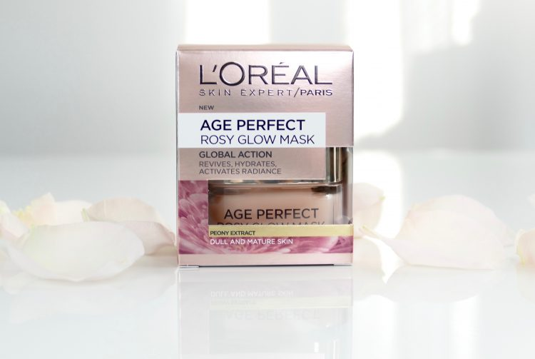 Age Perfect Rosy Glow mask