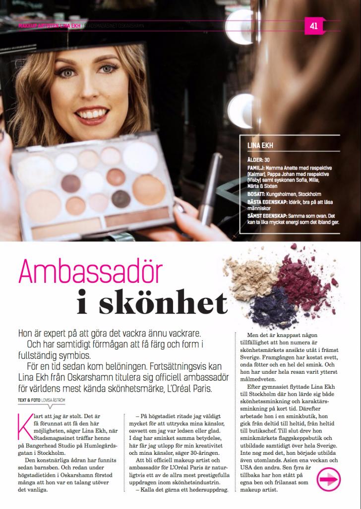 Makeupartist Stockholm