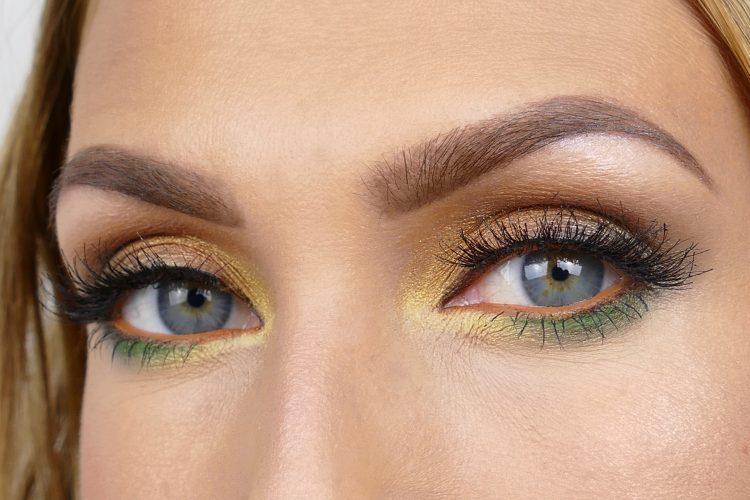 Färgglad påsk makeup