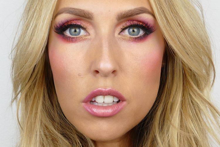 makeup i rosa