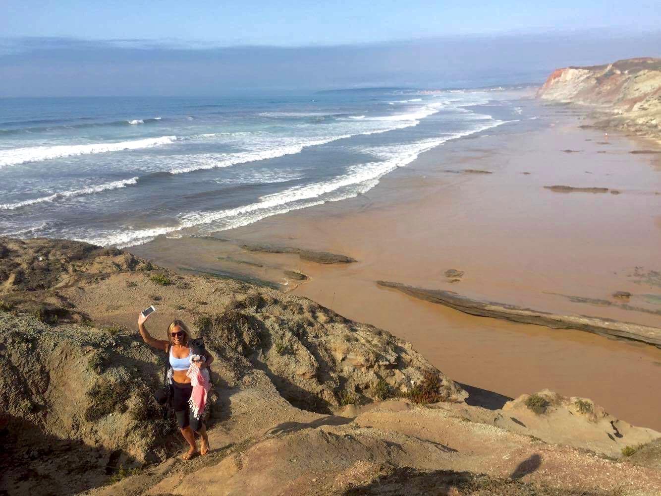 surfa i portugal sommar