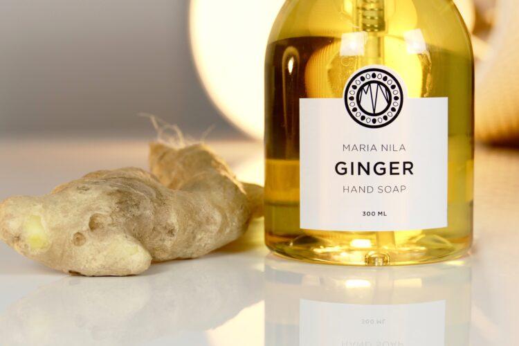 ginger hand soap maria nila