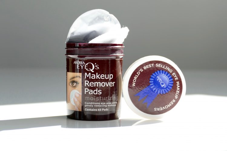 makeup REmover Pads moiSturiZing,andrea EYe q