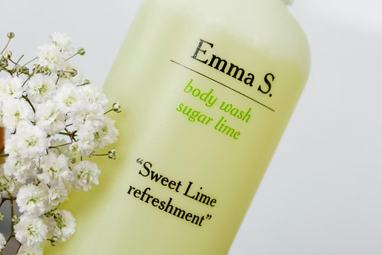Emma S body wash sugar lime