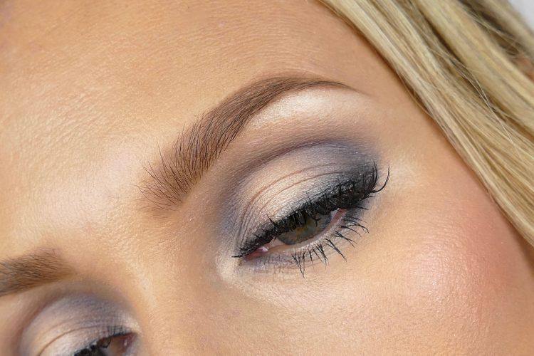Grå makeup look