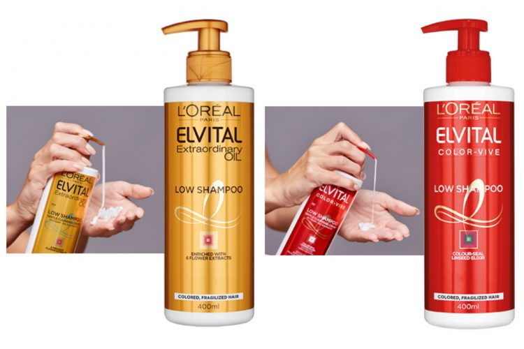 Elvital Low Shampoo