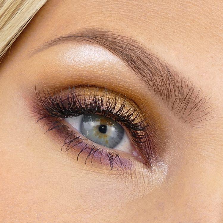 accentfärg makeup