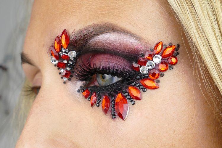 snygg Halloween makeup