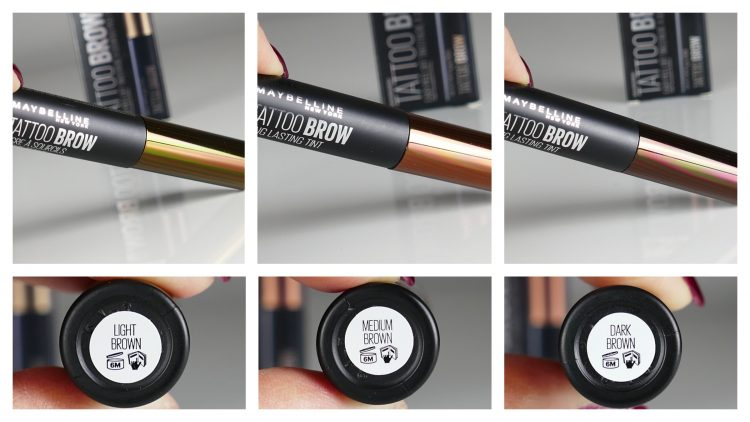 Färger Tattoo Brow Peel-Off Tint