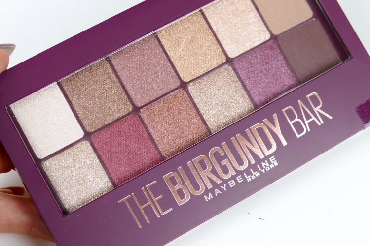 The burgundy bar maybelline