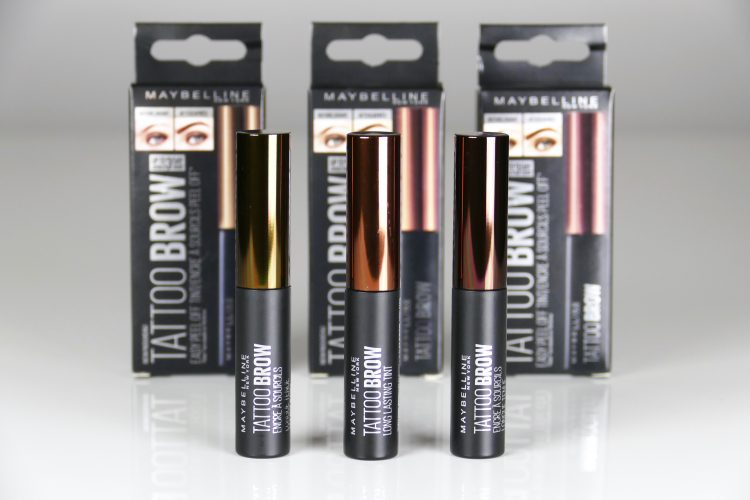 Tattoo Brow Peel-Off Tint Maybelline