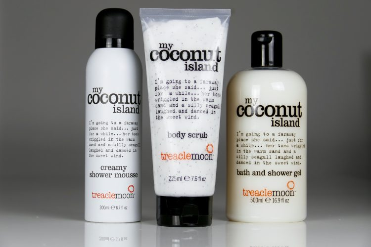 My Coconut Island Body Scrub Treaclemoon