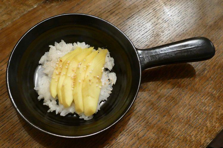 kokosris mango