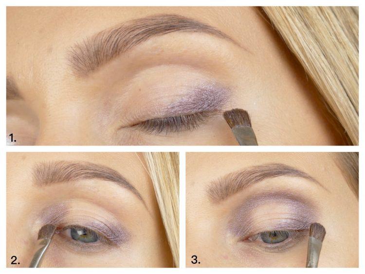 steg för steg nyårs makeup
