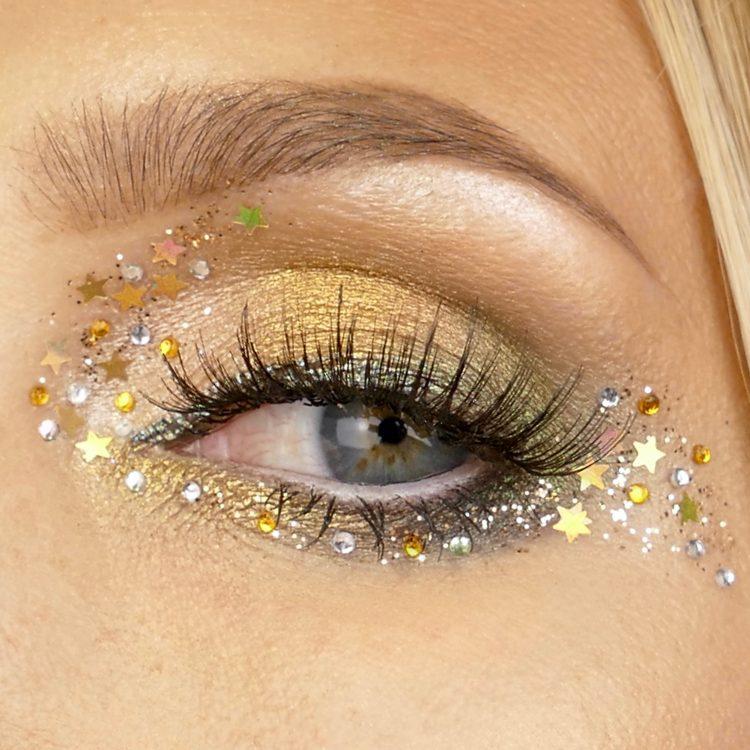 GlitterMakeup oeil de biche