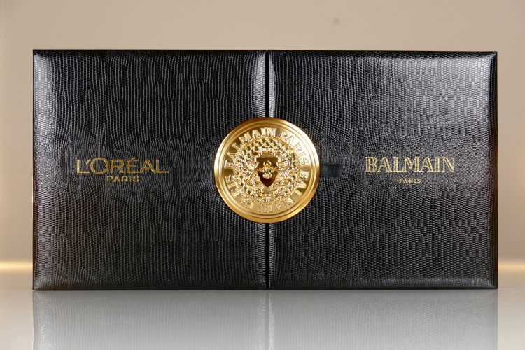L'Oréal Paris x Balmain Paris box