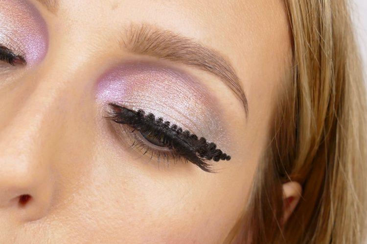 On the dot eyeliner