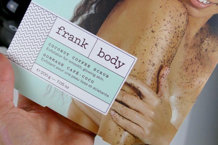frank body peeling