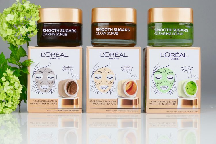 Smooth Sugar scrubs Loreal