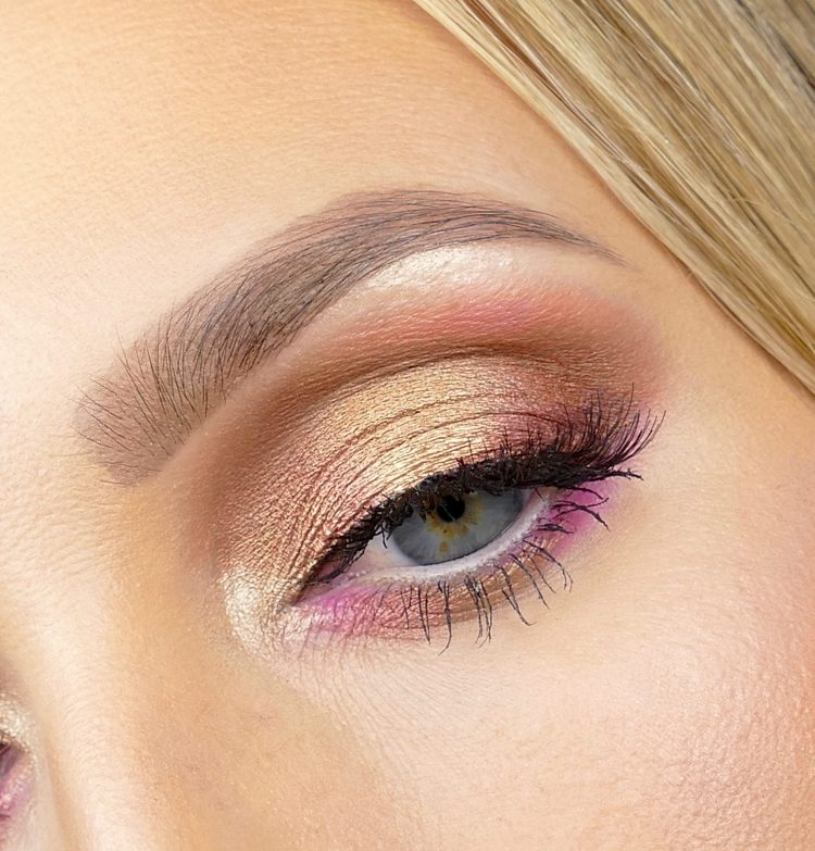 Guld makeup