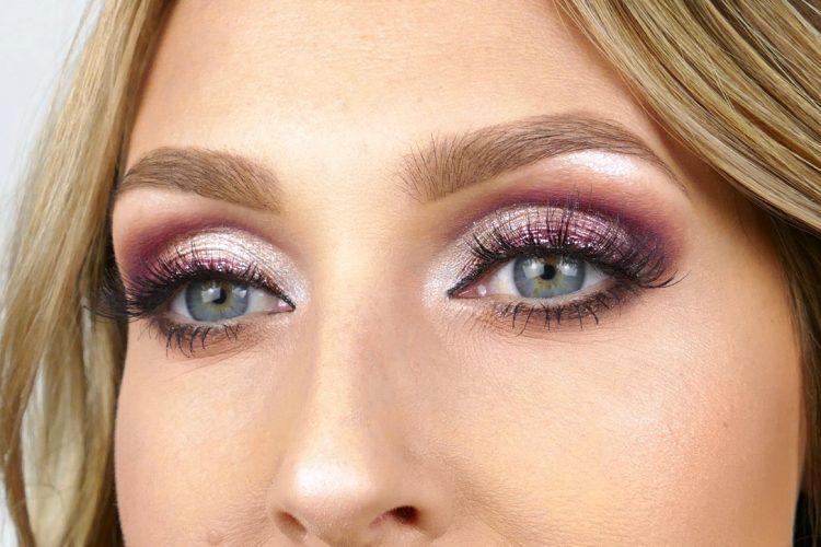 sotade ögon lila bordeaux