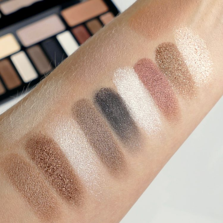 swatch Shade + Light Glimmer eye contour