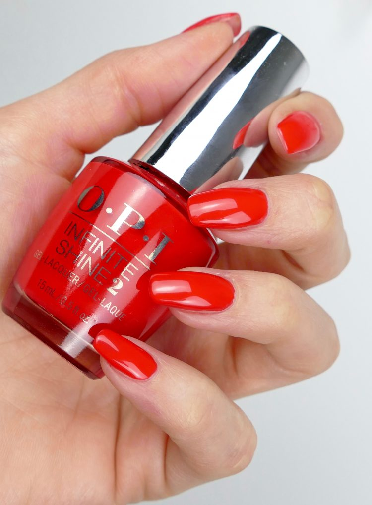 Infinite Shine Nailpolish Unrepentantly Red