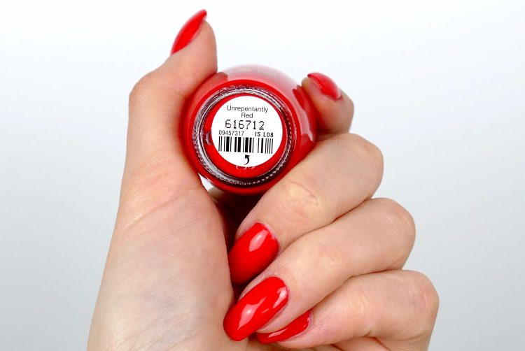 opi unrepentAntly red
