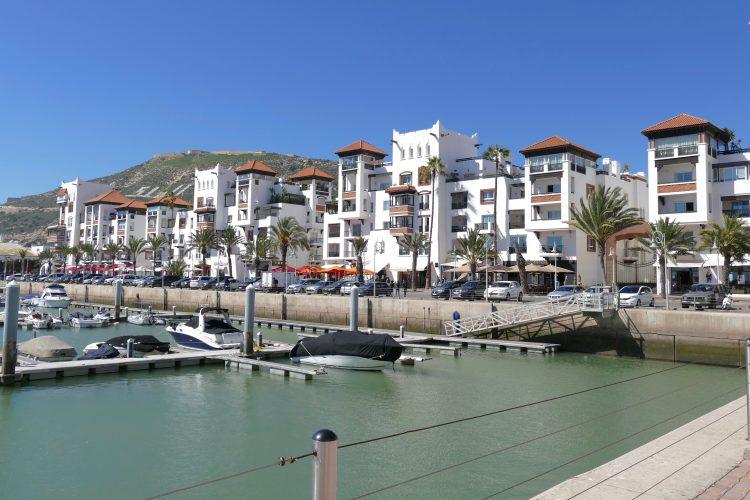 agadir marina town