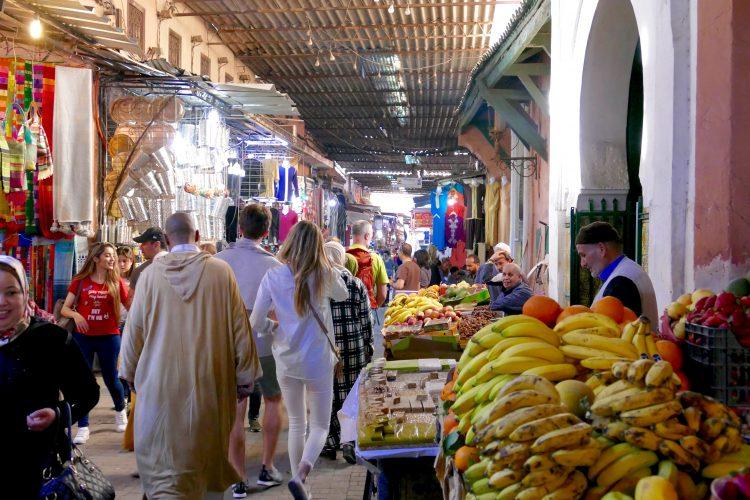 Marrakech marknad
