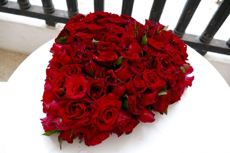 100 rosor