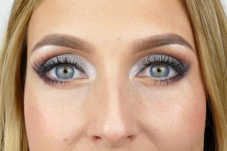 Guld silver makeup