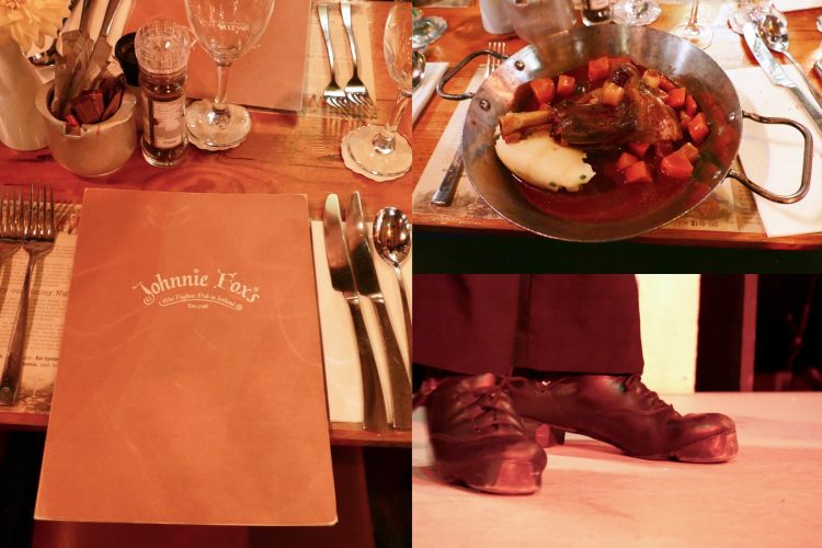 Dinner Johnnie Fox Pub