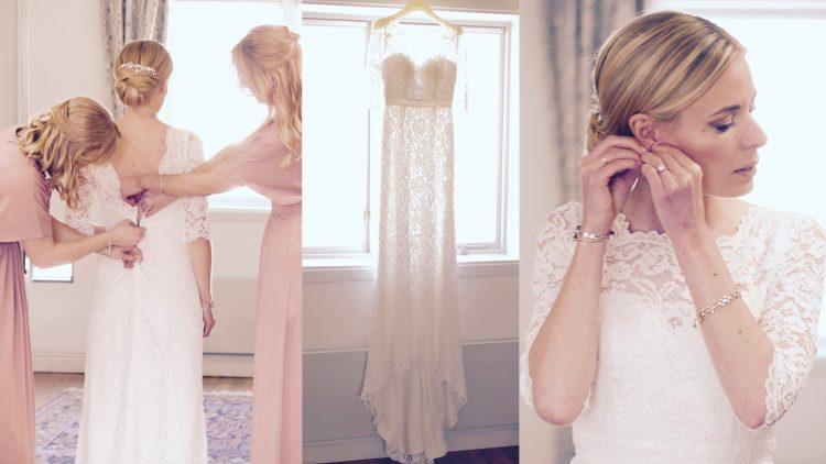 bröllops klänning