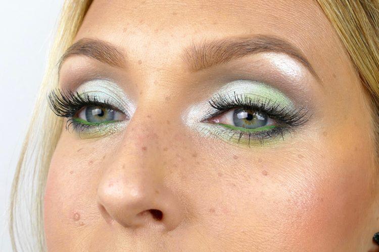 mintgrön makeup